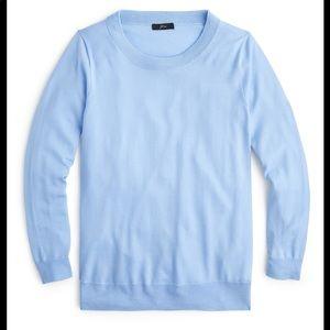 J. Crew Tippi Sweater in Light Blue Item E1277